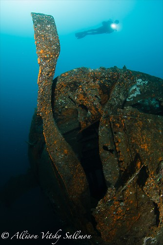Wreck Wide Angle - Lembeh Strait Indonesia May 2013